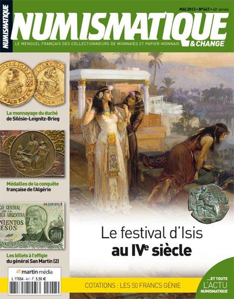 numismatique 447 isis