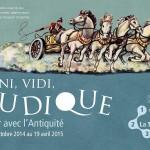 Veni, vidi, ludique - Jouer avec l'Antiquité (exposition)