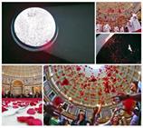 Des roses au Panthéon pour la Pentecôte !