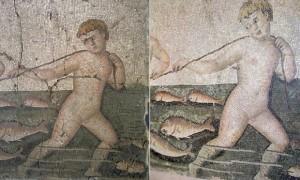 Restaurations ratées de mosaïques antiques