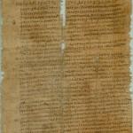 Sur un papyrus du 4ème siècle : un évêque, de la violence domestique, une église