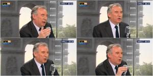 Europe 1 / François Bayrou raconte sa petite blague