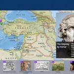 Carte interactive : le voyage d'Ulysse