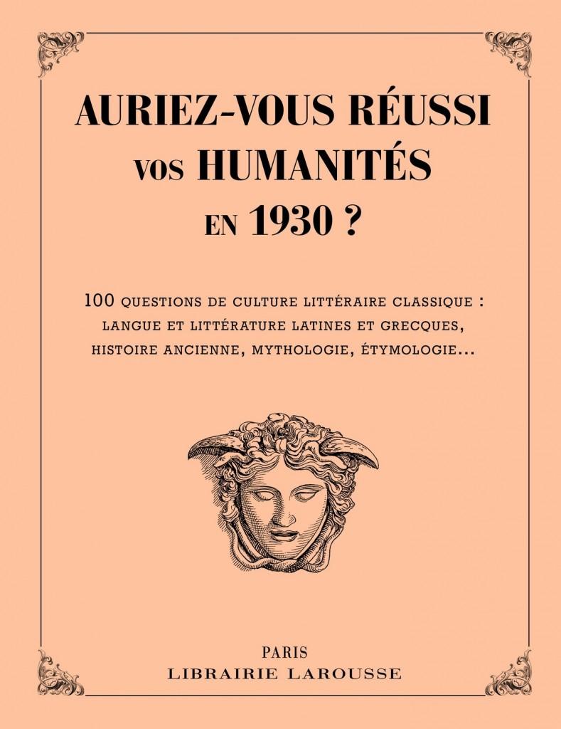 humanités 1930