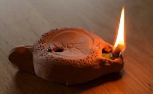 Tutoriel : fabriquer une lampe à huile