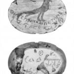 Les palindromes étaient courant sur les amulettes, exemple du 3ème siècle : βηλτεπιαχχαιπετληβ → βηλτεπιαχχαιπετληβ