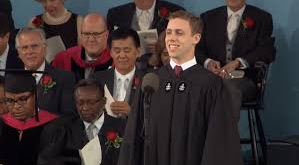 Latin Orator James McGlone - Harvard Commencement 2015