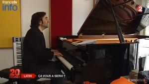 France 2 / le latin a-t'il servi à Stephane Bern, André Manoukian, Olivier Faure (député PS), Pierre Perret ?