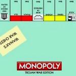Une petite partie de monopoly « Guerre de Troie » ?