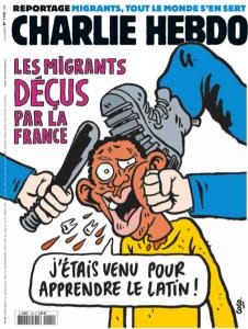 Les migrants déçus par la France - par Coco - Charlie Hebdo 1195 - 17 juin 2015