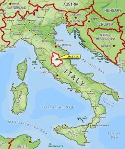 Une structure pyramidale étrusque trouvée en Italie