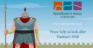 Adopter une pierre du mur d'Hadrien !