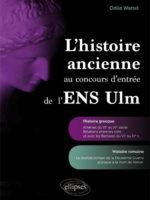 MANUEL • L'histoire ancienne aux concours d'entrée de l'ENS Ulm – Histoire grecque et histoire romaine