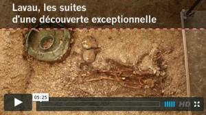 INRAP / Lavau (Aube) : les suites d'une découverte exceptionnelle(video)