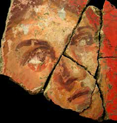 Découverte à Arles de très belles fresques romaines