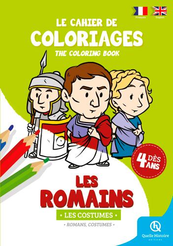 coloriage romains