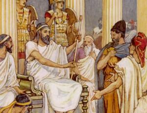 Marianne / 594 av. J.-C. : les Athéniens abolissent leurs dettes