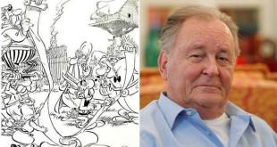 Le Figaro / Albert Uderzo a annoncé que le scénariste Jean-Yves Ferri et le dessinateur Didier Conrad s'étaient inspirés de la volumineuse Guerre des Gaules de Jules César.