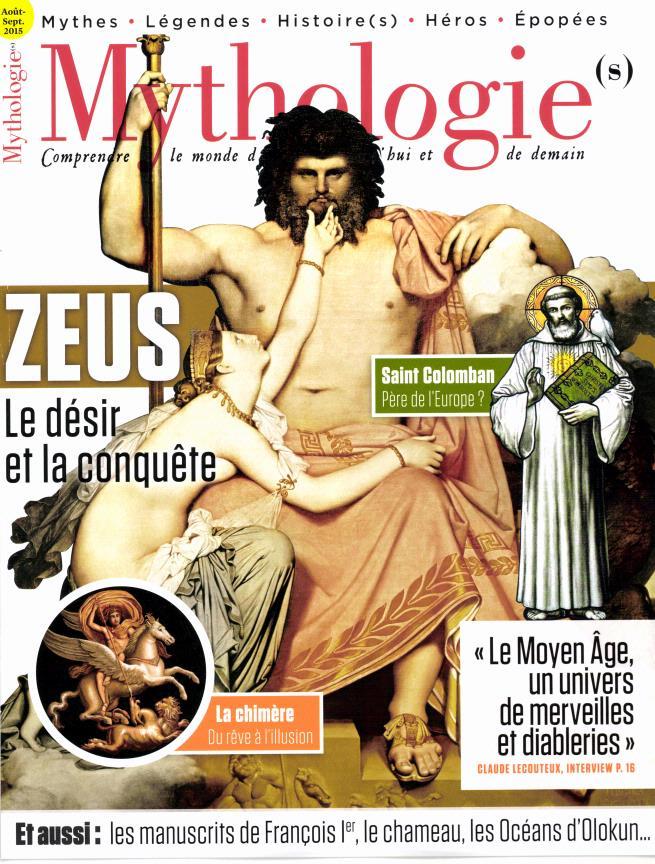 mythologies zeus