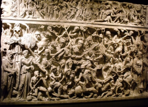 Roma Aeterna / Le sarcophage de Portonaccio