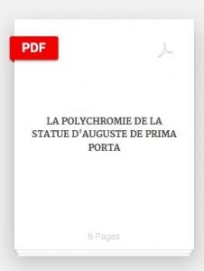 Academia.eu / La polychromie de la statue d'Auguste Prima Porta