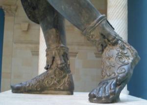 Roma Aeterna / Les trésors du Musée du Cinquantenaire (Bruxelles) : la statue en bronze de Septime Sévère