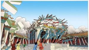France 3 Isère / La ville de Vienne en Isère a bien été détruite par un séisme... à l'Antiquité