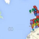 Carte Interactive / la carte des musées sur le monde antique