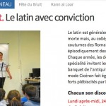 Le Telegrammme / Mescoat, le latin avec conviction