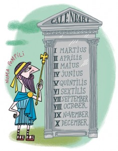 Cavallfort (magazine catalan) / Trois illustrations de LLUÏSOT pour comprendre les curiosités de notre calendrier