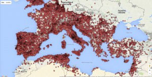 (Impressionnante) Google Maps des inscriptions romaines !