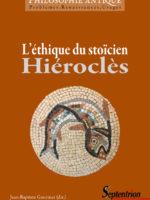 HIÉROCLÈS D'ALEXANDRIE : Commentaire sur les Vers d'or des Pythagoriens, Traité sur la Providence