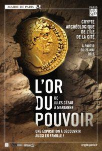 L'Or du pouvoir : de Jules César à Marianne @ Crypte archéologique | Paris | Île-de-France | France
