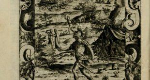 Les Métamorphoses d'Ovide, édition illustrée par Giacomo Franco de 1534.
