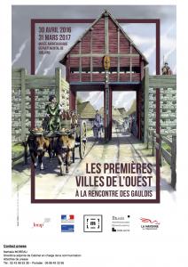 Les premières villes de l'Ouest @ Musée archéologique départemental de Jublains, Jublains (Pays-de-la-Loire) | Jublains | Pays de la Loire | France