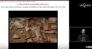 """Les Nocturnes du Plan de Rome / """"De la maquette de P. Bigot à la maquette virtuelle [3D]"""""""