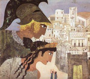 Belles illustrations de l'Iliade et de l'Odyssée par Alice & Martin Provensen
