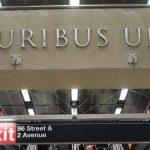 Du latin dans les nouvelles et très belles stations de métro à New York !