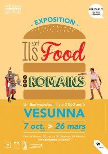 « Ils sont food ces Romains ! » @ Vesunna | Périgueux | Nouvelle-Aquitaine | France