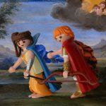 Quelques reconstitutions / parodies de tableaux célèbres... avec des playmobils