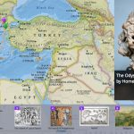 Carte interactive pour localiser les principaux lieux de l'Odyssée