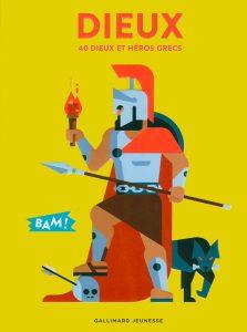 Dieux : 40 dieux et héros grecs