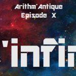 La vie des classiques / Arithm'Antique n°10 - L'infini
