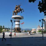 Courrier international / A Skopje, la folie de l'antique