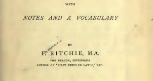 "Franck Ritchie : ""Fabulae Faciles"""