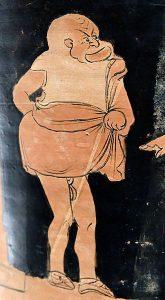 Il dénonce des corrompus et reçoit des menaces sous la forme de 6 vers d'Eschyle recopiés en grec ancien