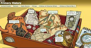 La BBC propose un mini-site avec plein de très jolies illustrations pour apprendre l'histoire aux plus jeunes.