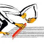 Courrier International / Les papyrus d'Herculanum virtuellement déroulés