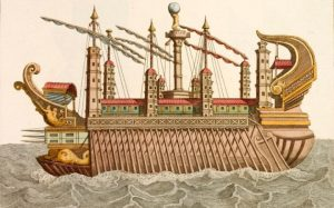 The Telegraphe / Italy hunts for Emperor Caligula's long-lost third pleasure ship, after reports of snagged fishing nets in Lake Nemi