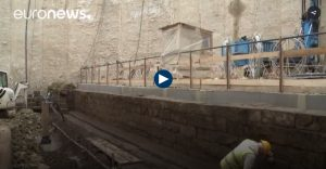 Un aqueduc romain découvert sur le chantier du métro de Rome